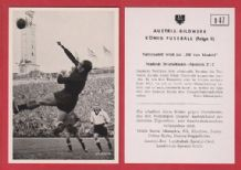 West Germany v Spain 1952 Eizaguifre Real Sociedad D47